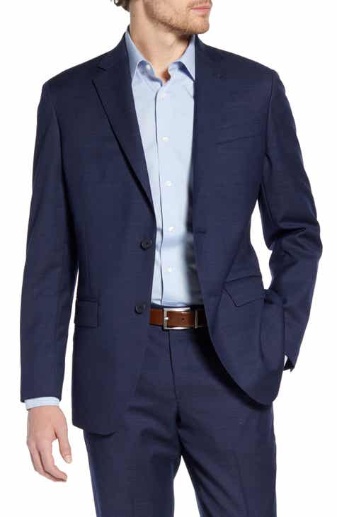 f0b70ac71182 Nordstrom Men s Shop Trim Fit Wool Blazer
