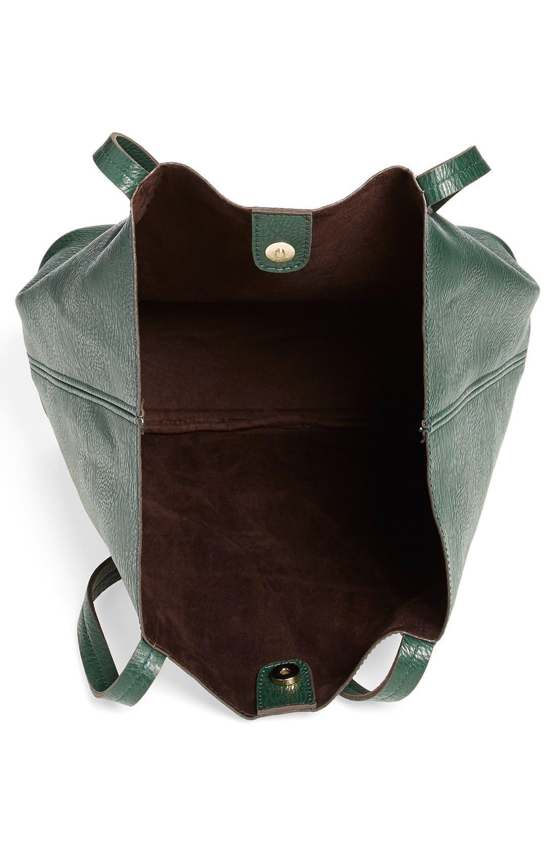 Alternate Image 3  - Street Level Faux Leather Pocket Tote