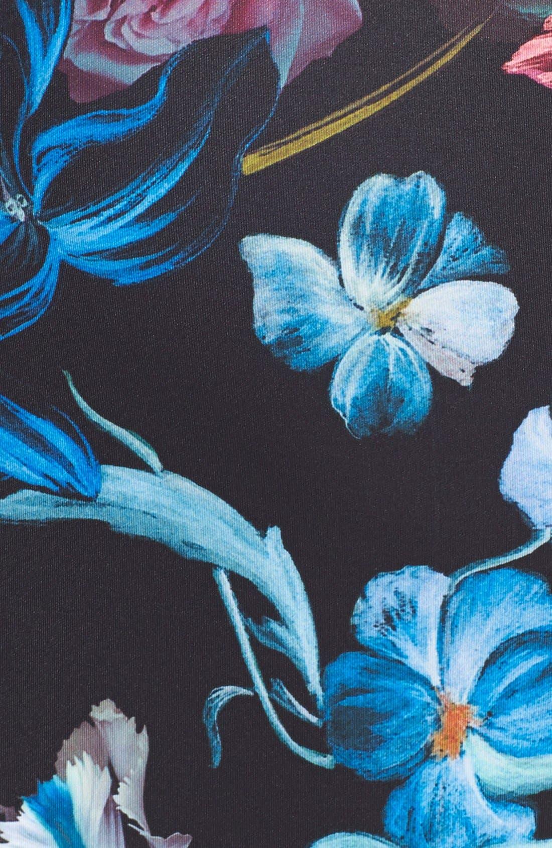 Alternate Image 3  - Ted Baker London 'Dabah' Floral Print Pencil Skirt