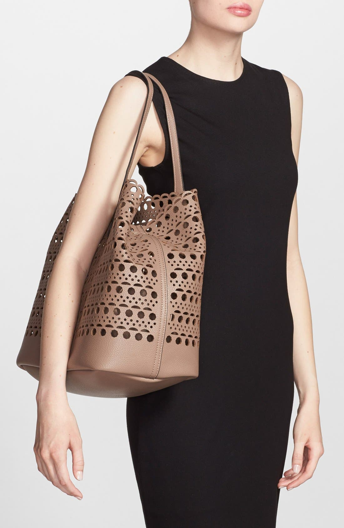 Alternate Image 2  - Street Level Perforated Tote