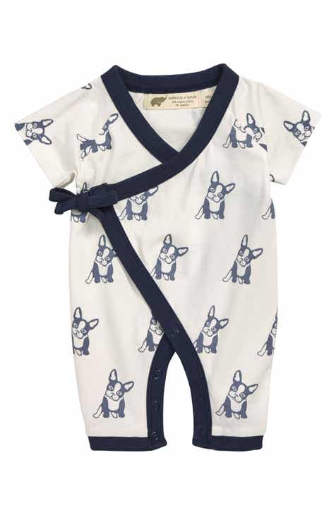 9ee123894487cd Monica + Andy Sweet Baby Organic Cotton Wrap Romper (Baby)