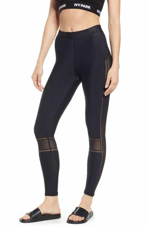 IVY PARK® Mesh Panel Leggings by IVY PARK