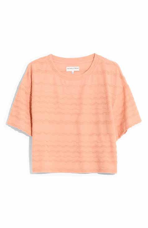 f6bceb4d44a6ac Madewell Scallop Stripe Top (Regular   Plus Size)