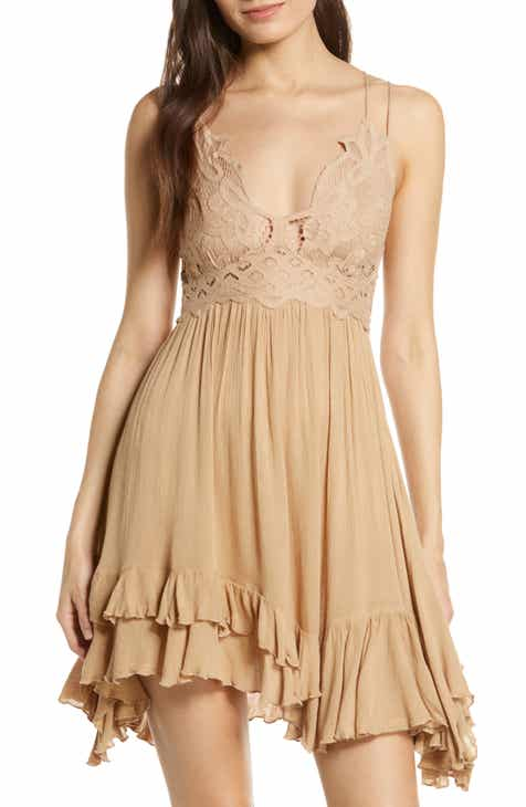 82e525a45a1 Free People Intimately FP Adella Frilled Chemise