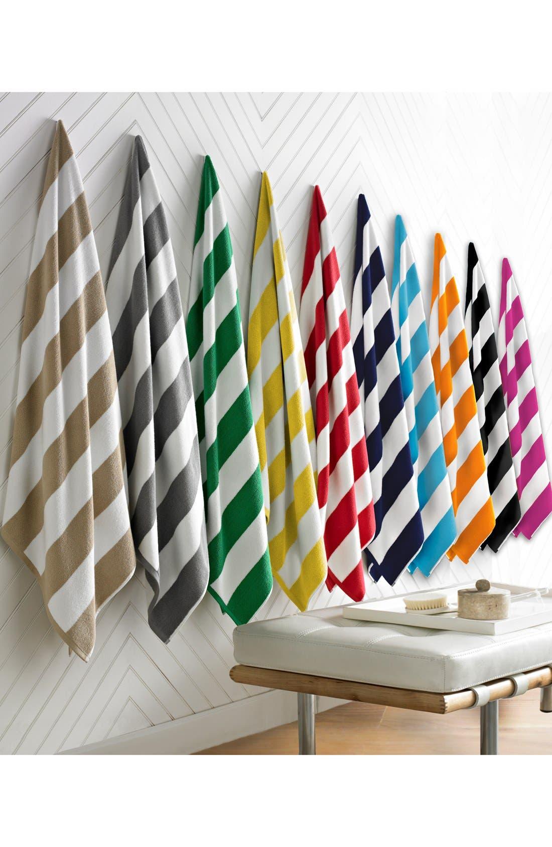 'Cabana' Stripe Beach Towel,                             Alternate thumbnail 2, color,