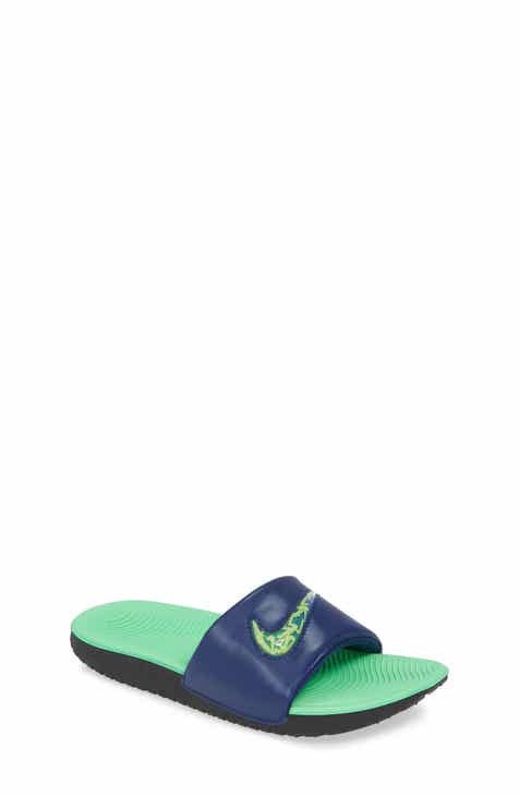 detailed look 9b169 82c14 Nike Kawa Sport Slide (Toddler, Little Kid   Big Kid)