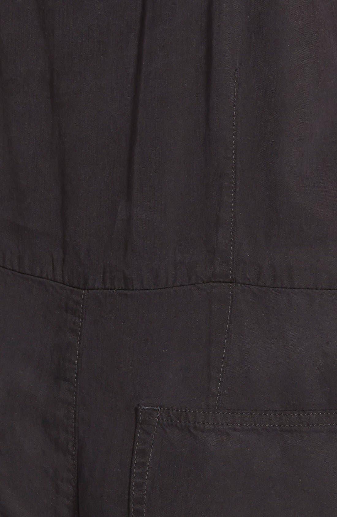 Alternate Image 3  - Paige Denim 'Anjelica' Sleeveless Jumpsuit (Black Overdye)