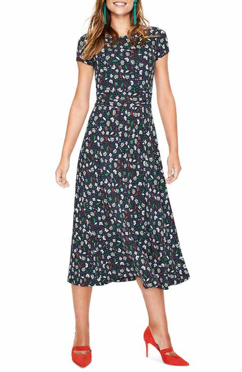 Boden Alda Jersey Midi Dress (Regular & Petite) by BODEN