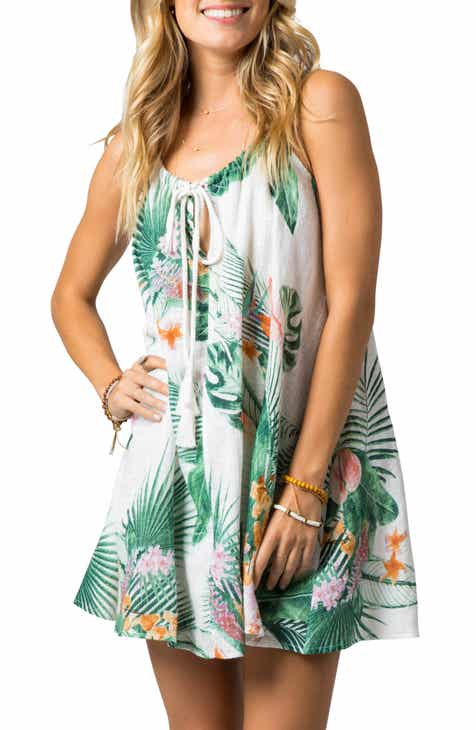 Rip Curl Morning Sky Cover-Up Swing Dress