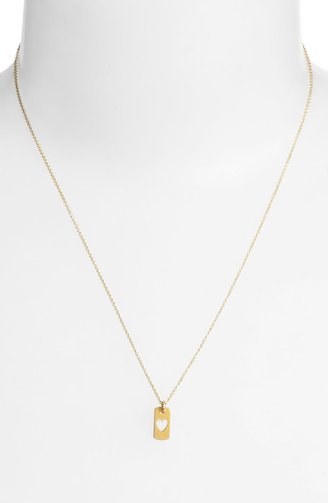 Alternate Image 3  - Dogeared 'Danielle LaPorte Truthbombs - Love Love' Necklace
