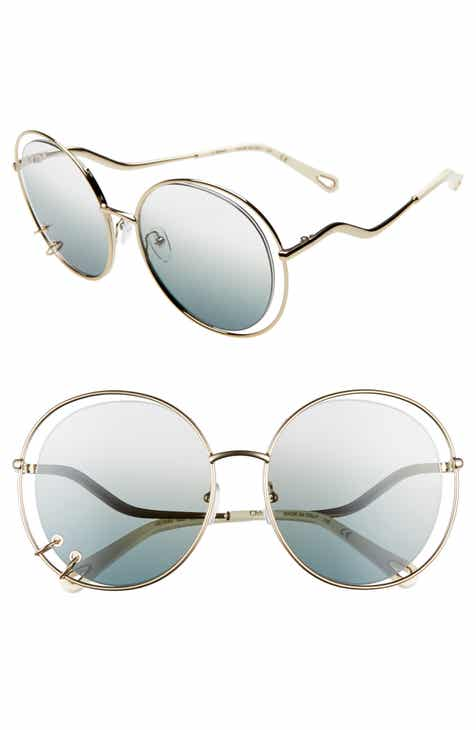 03989988e80 Chloé Wendy 59mm Round Sunglasses