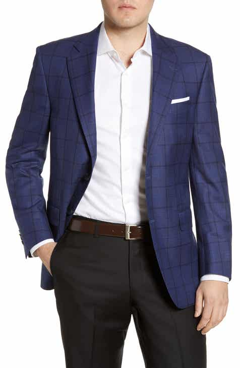 459480c83659 Peter Millar Flynn Windowpane Wool Sport Coat