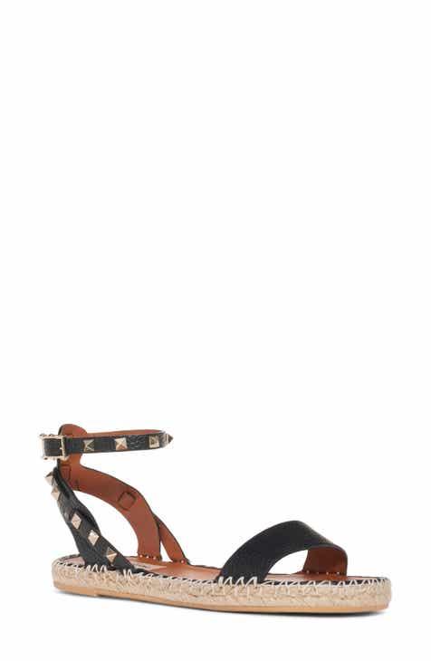 f5a8be43ced VALENTINO GARAVANI Rockstud Espadrille Sandal (Women)