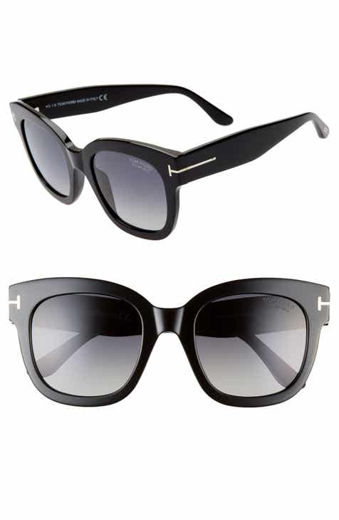 4dd0aba25c8 Tom Ford Beatrix 52mm Polarized Sunglasses