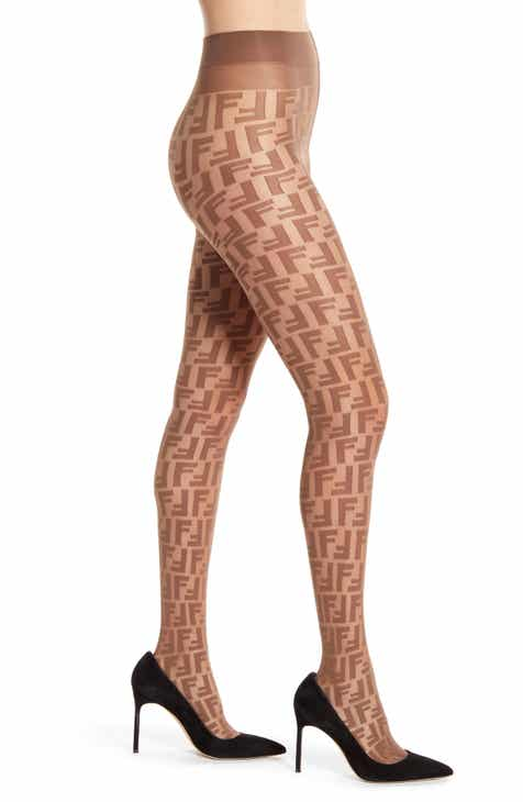ec5ede445e1 Fendi Double F Logo Tights