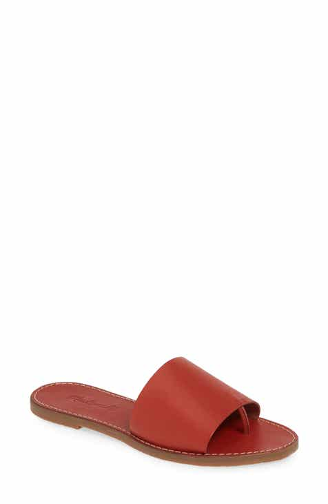 On Sale Madewell Boardwalk Post Slide Sandal (Women)