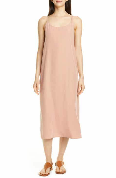 65a736bee8b Eileen Fisher Cami Midi Dress