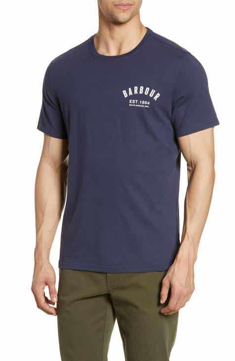 247071aabb869 Barbour Preppy Logo T-Shirt