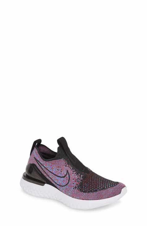 5ac897bbd71da Nike Epic Phantom React Flyknit Running Shoe (Big Kid)
