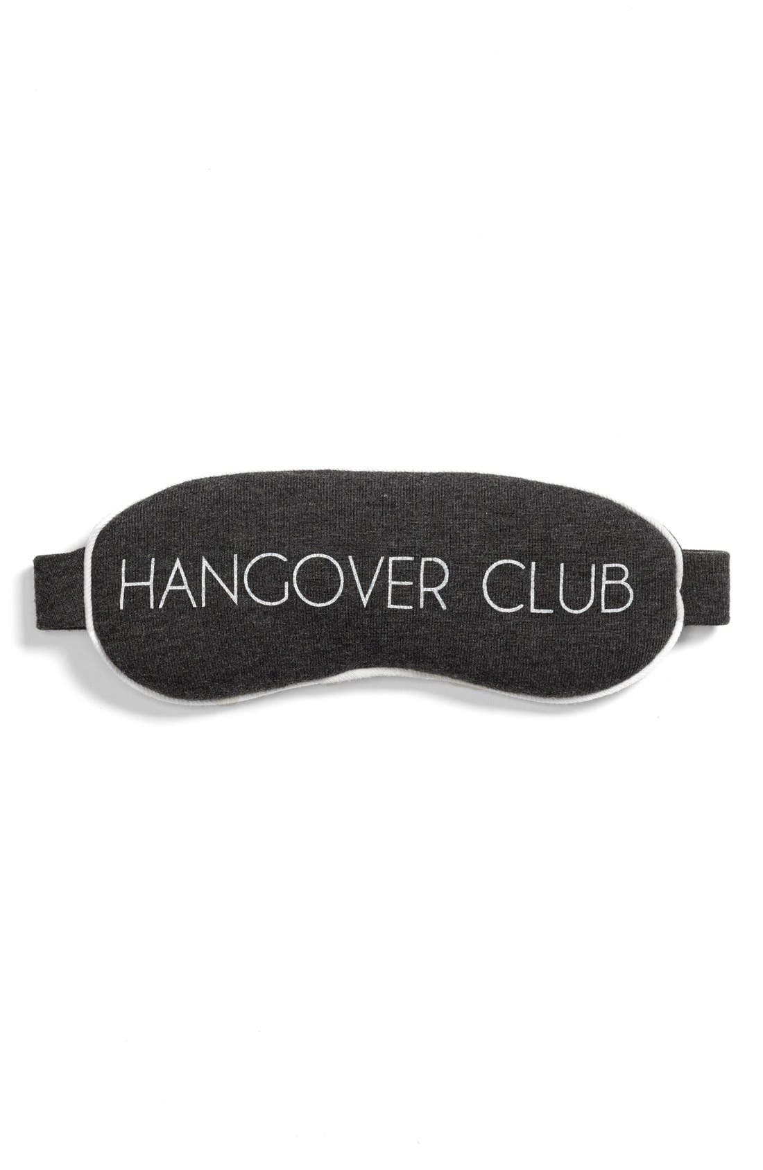 Main Image - Wildfox 'Hangover Club' Sleep Mask