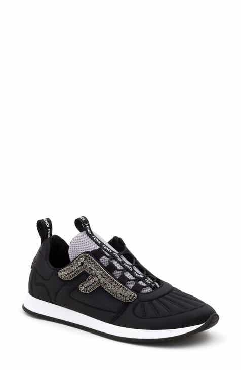 3f34cf811c591c Fendi FFreedom Jewel Embellished Sneaker (Women)