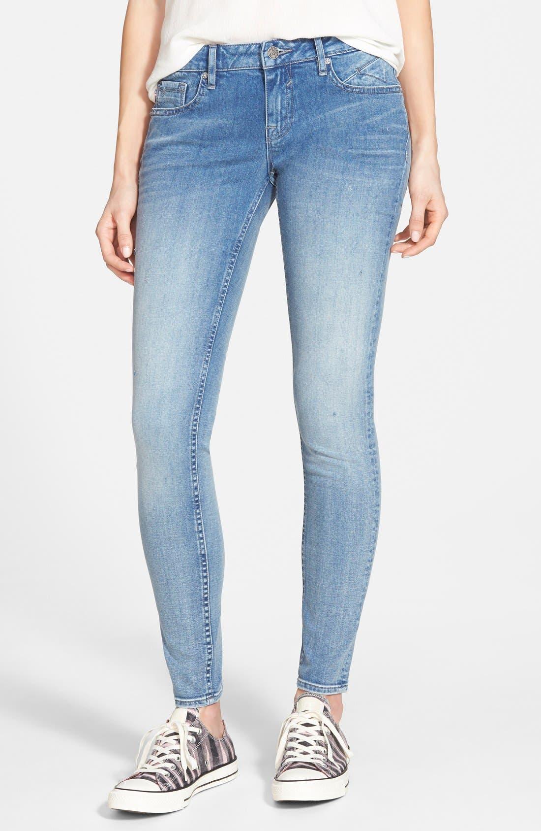 Alternate Image 1 Selected - Vigoss Skinny Jeans (Light)