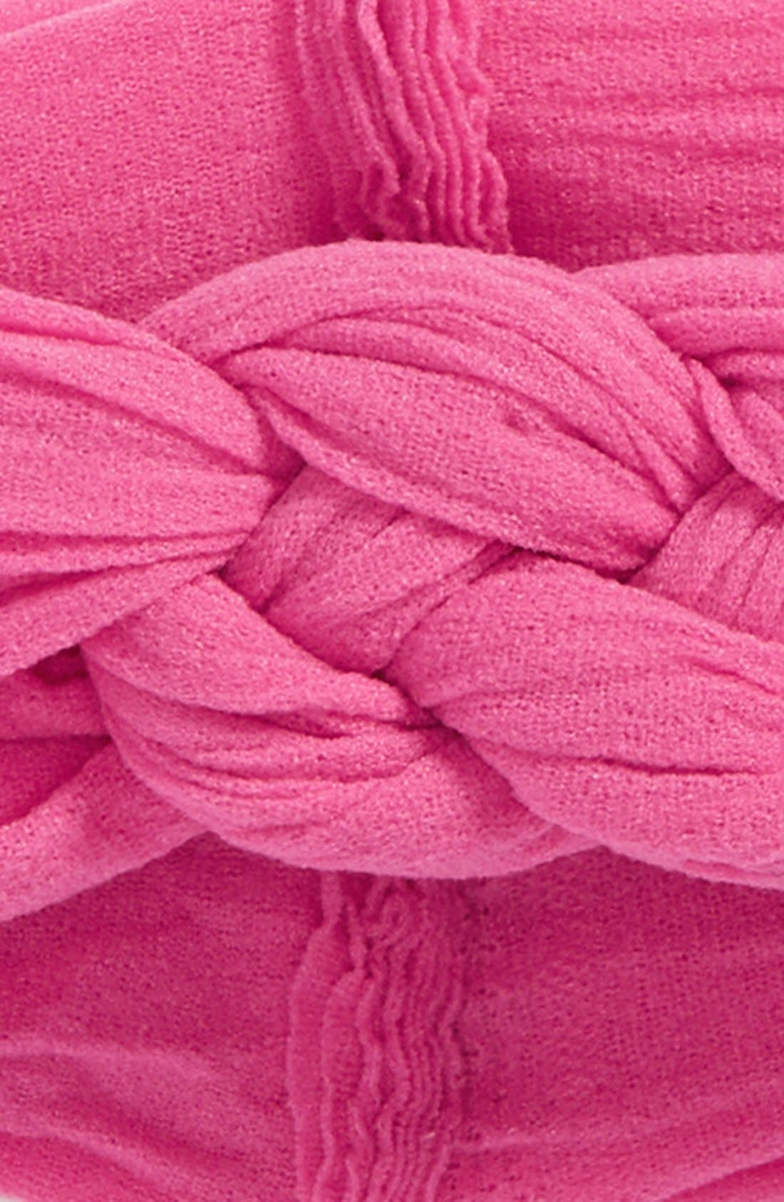 'Sailor Knot' Head Wrap,                             Alternate thumbnail 2, color,                             Hot Pink