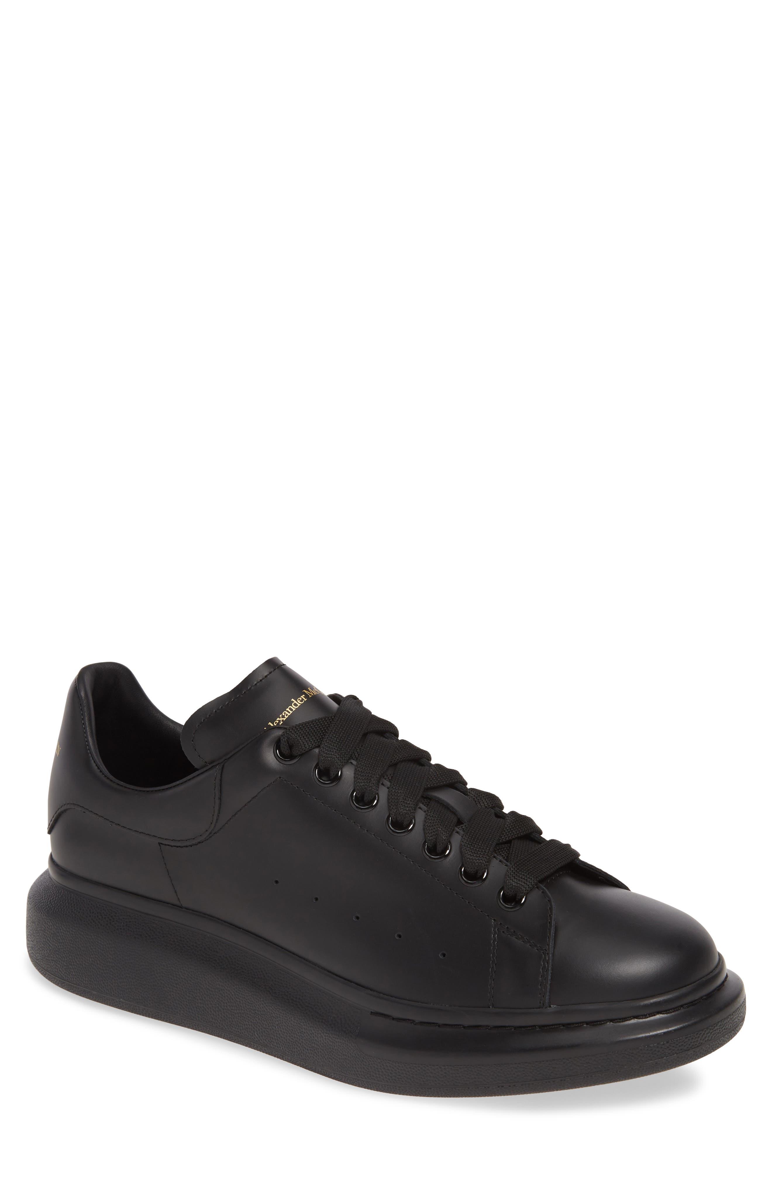 black designer sneakers mens