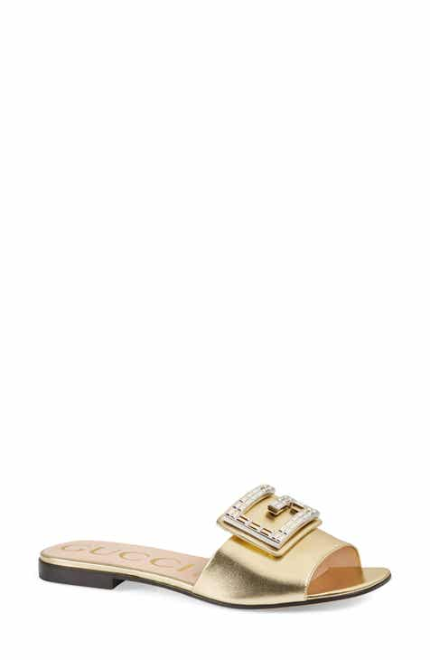 f4563d10f Gucci Madelyn Jewel Slide Sandal (Women)