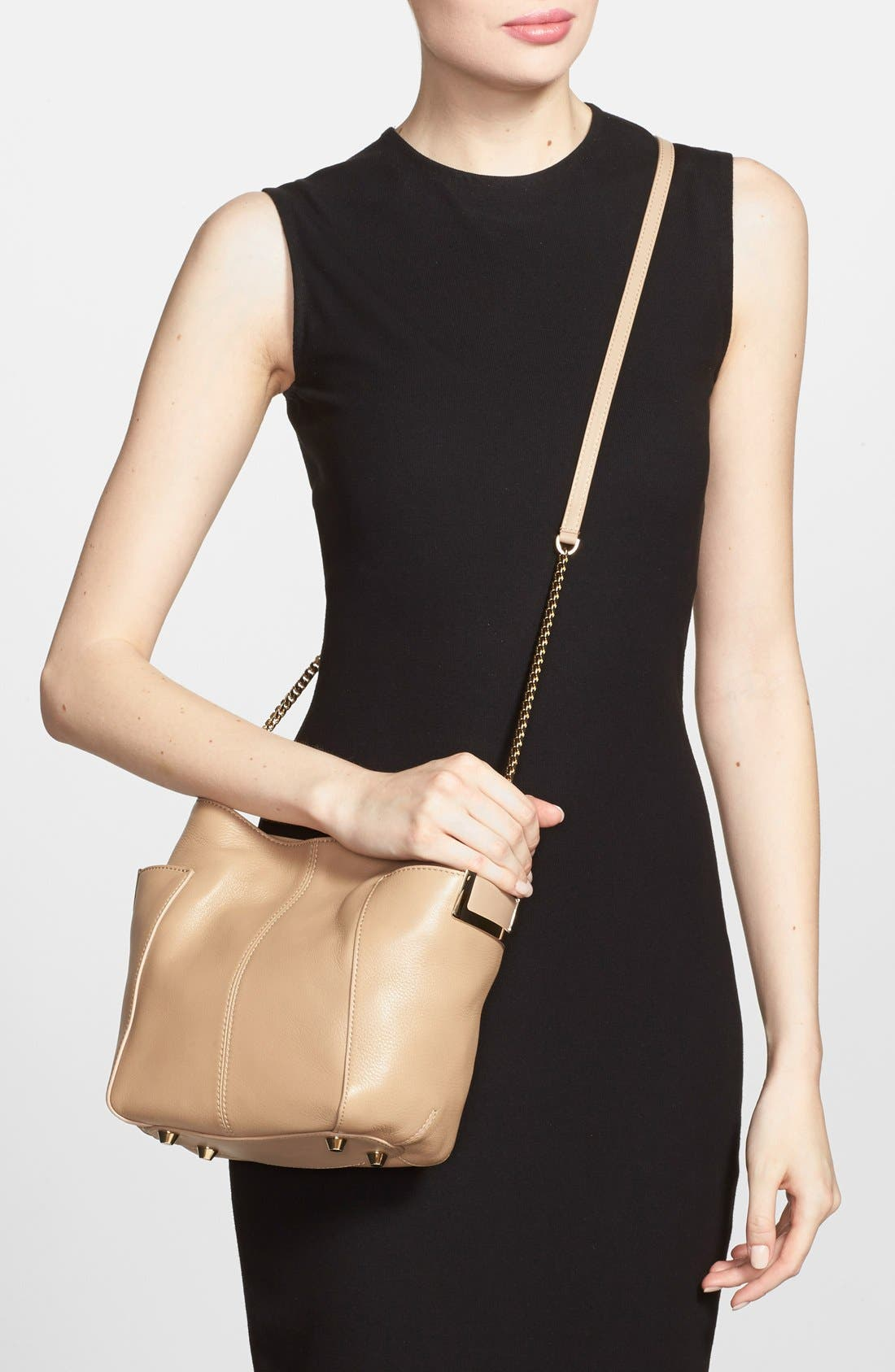 Alternate Image 2  - Jimmy Choo 'Small Anabel' Leather Crossbody Bag