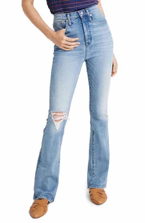 822d61a8448 Madewell High Waist Skinny Flare Jeans (Martie Wash) (Regular & Plus Size)