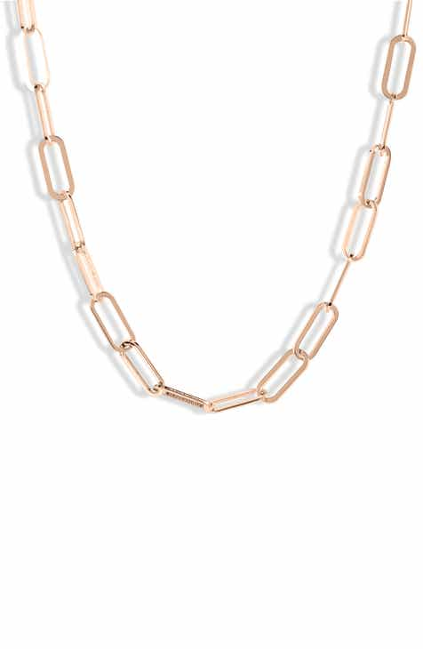 9f0423b7cb67 Jennifer Zeuner Marta Chainlink Choker Necklace