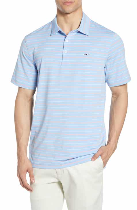 c6f98e5bb vineyard vines Multistripe Regular Fit Short Sleeve Performance Polo.   85.00. Product Image