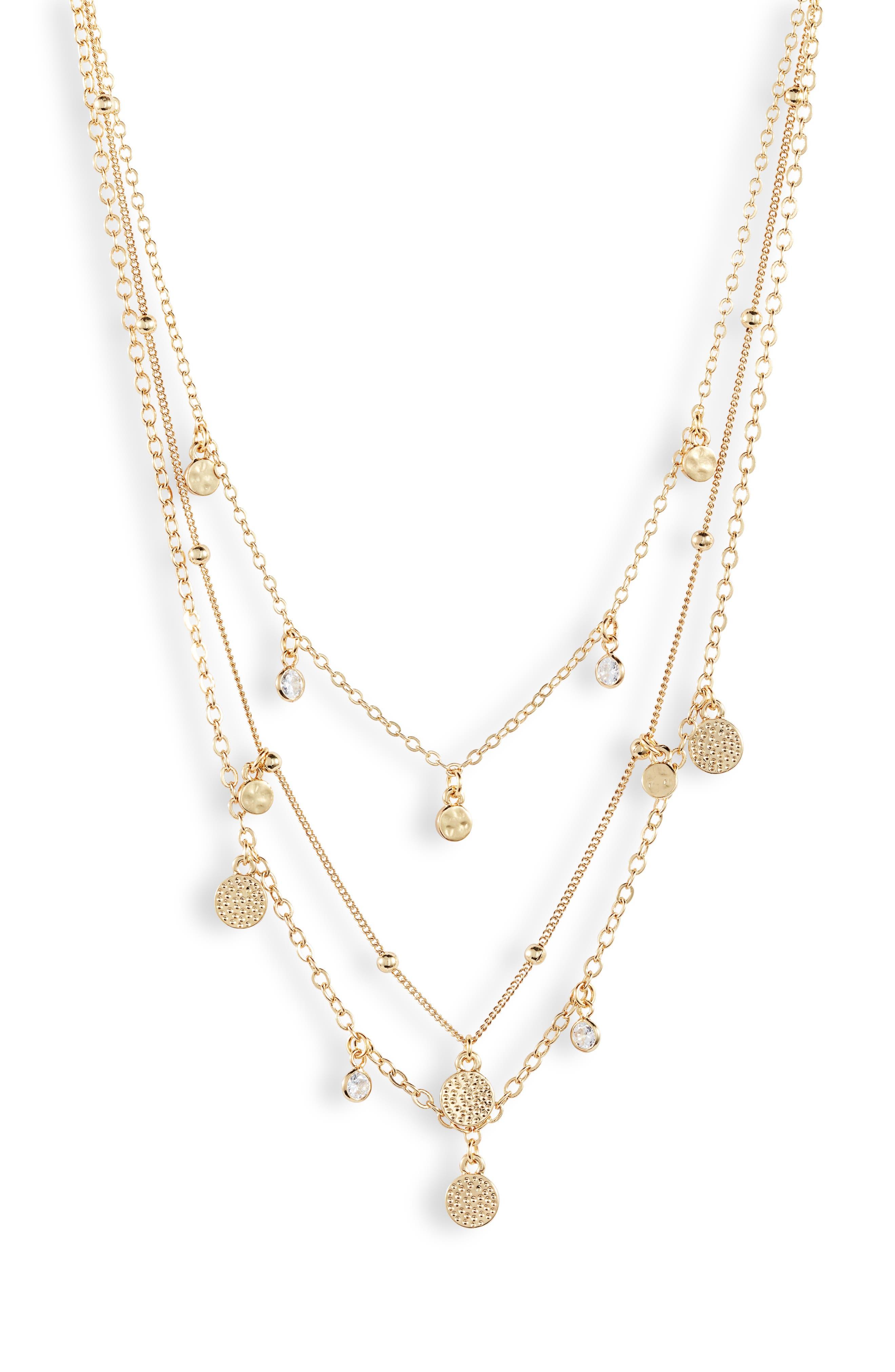 3460b89063512 Women's Multi-Strand Necklaces | Nordstrom