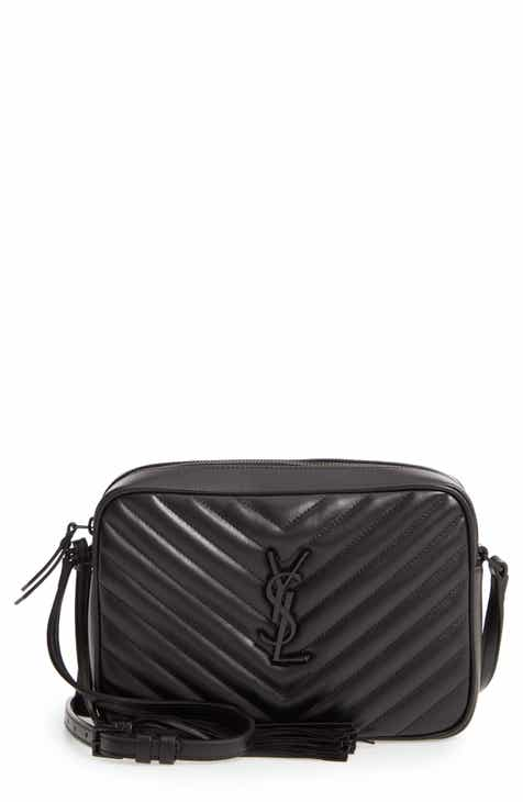 29d882632b22 Saint Laurent Lou Matelassé Calfskin Leather Camera Bag