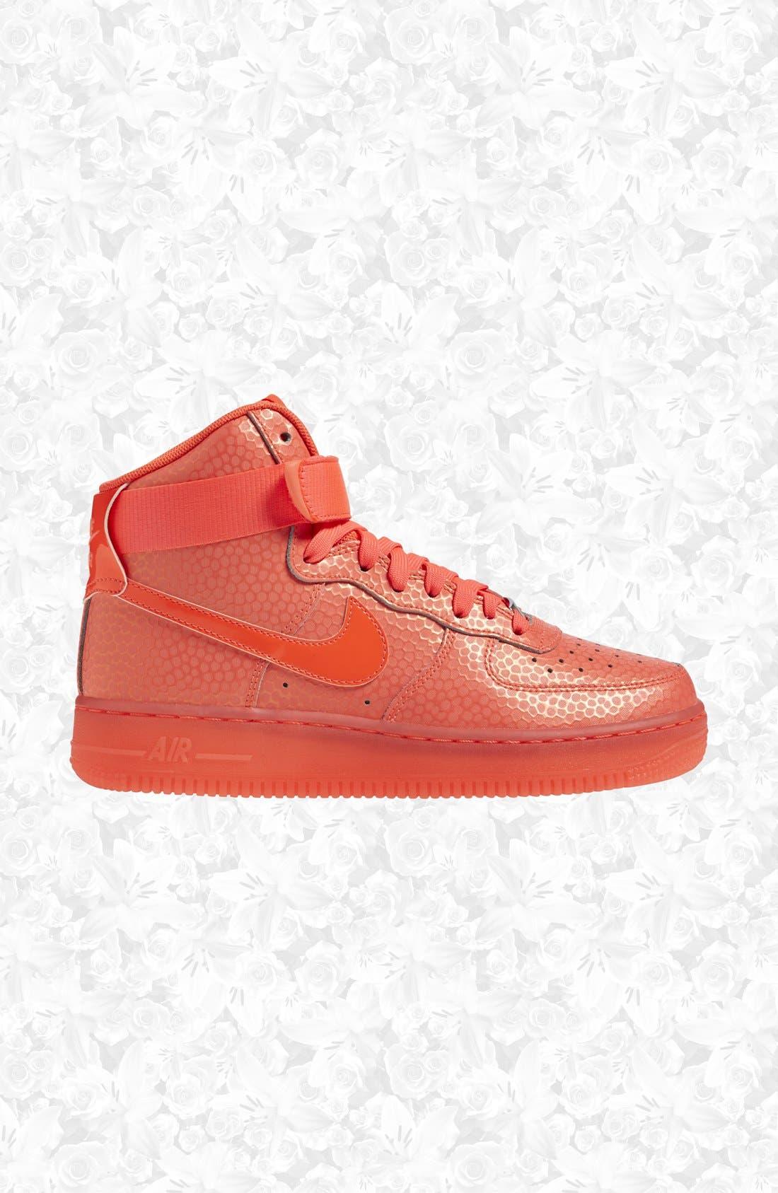 Main Image - Nike 'Air Force 1 Hi Premium' Leather High Top Sneaker (
