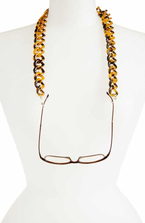 fdcabfacc19c 8 Other Reasons x Jill Jacobs Resin Chain Link Eyewear Chain