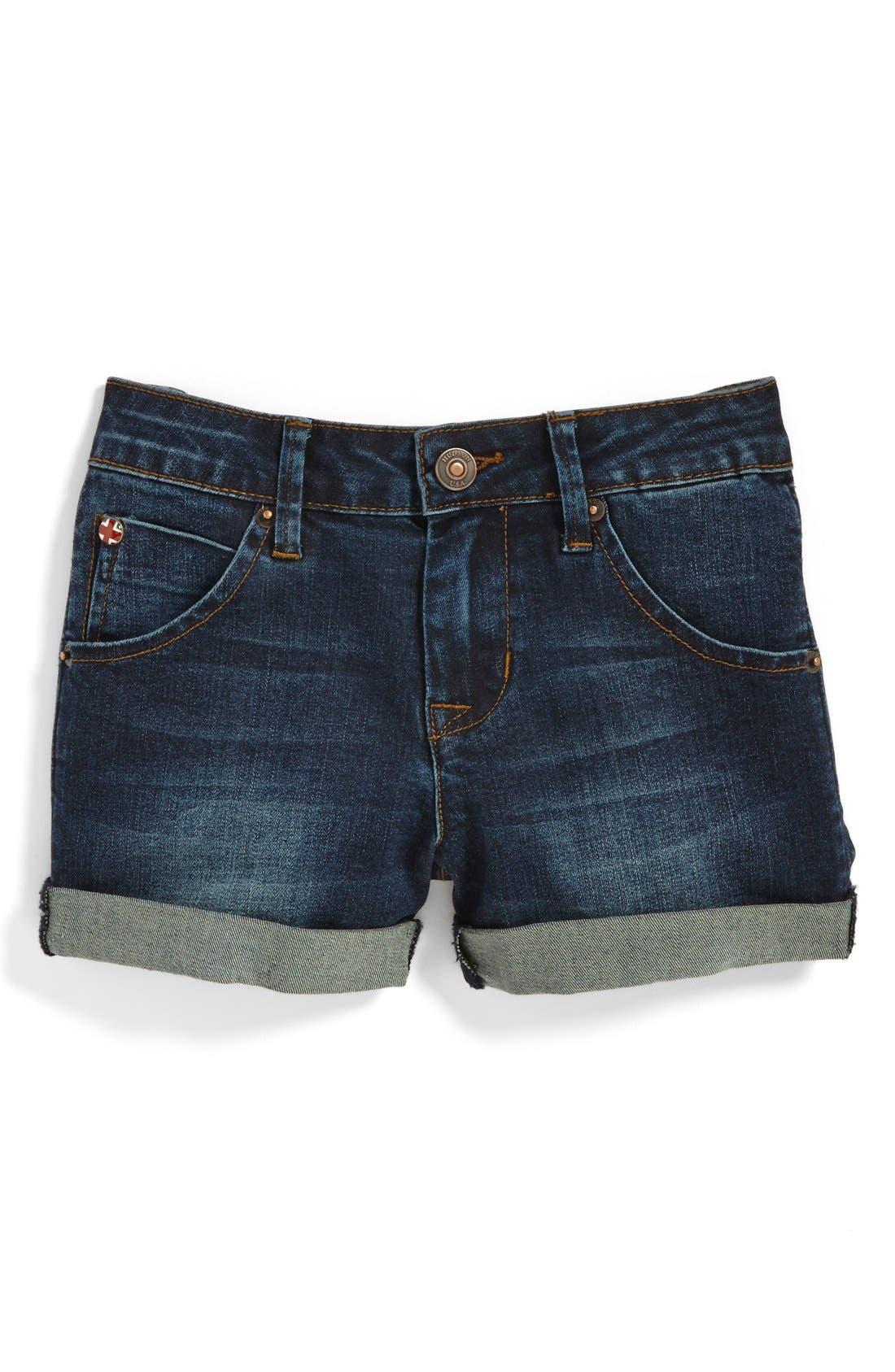 Alternate Image 1 Selected - Hudson Kids Roll Cuff Shorts (Toddler Girls, Little Girls & Big Girls)