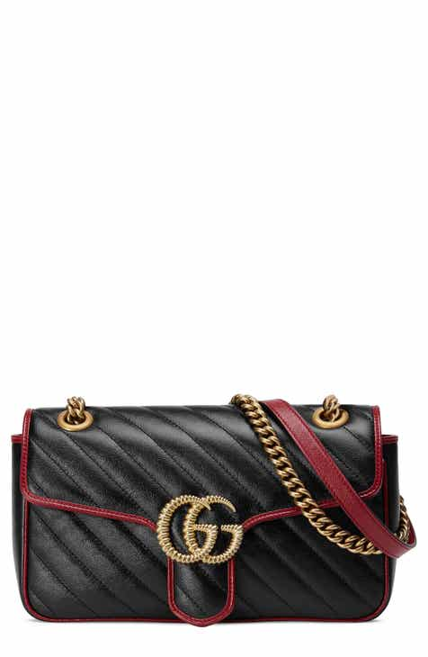 5c412b8d4 Gucci Small GG Marmont 2.0 Matelassé Leather Shoulder Bag