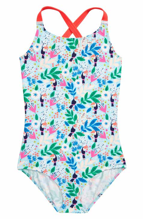 c1f7480eccca Mini Boden Print One-Piece Swimsuit (Toddler Girls, Little Girls & Big Girls )