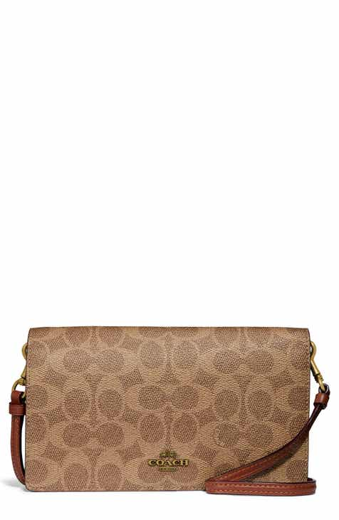 b159f9d023a0d COACH Hayden Signature Canvas & Leather Foldover Convertible Crossbody Bag