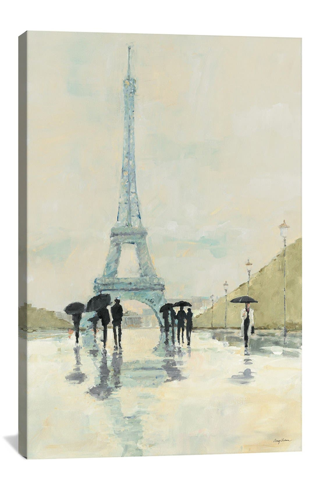 Alternate Image 1 Selected - iCanvas 'April in Paris - Avery Tillmon' Giclée Print Canvas Art