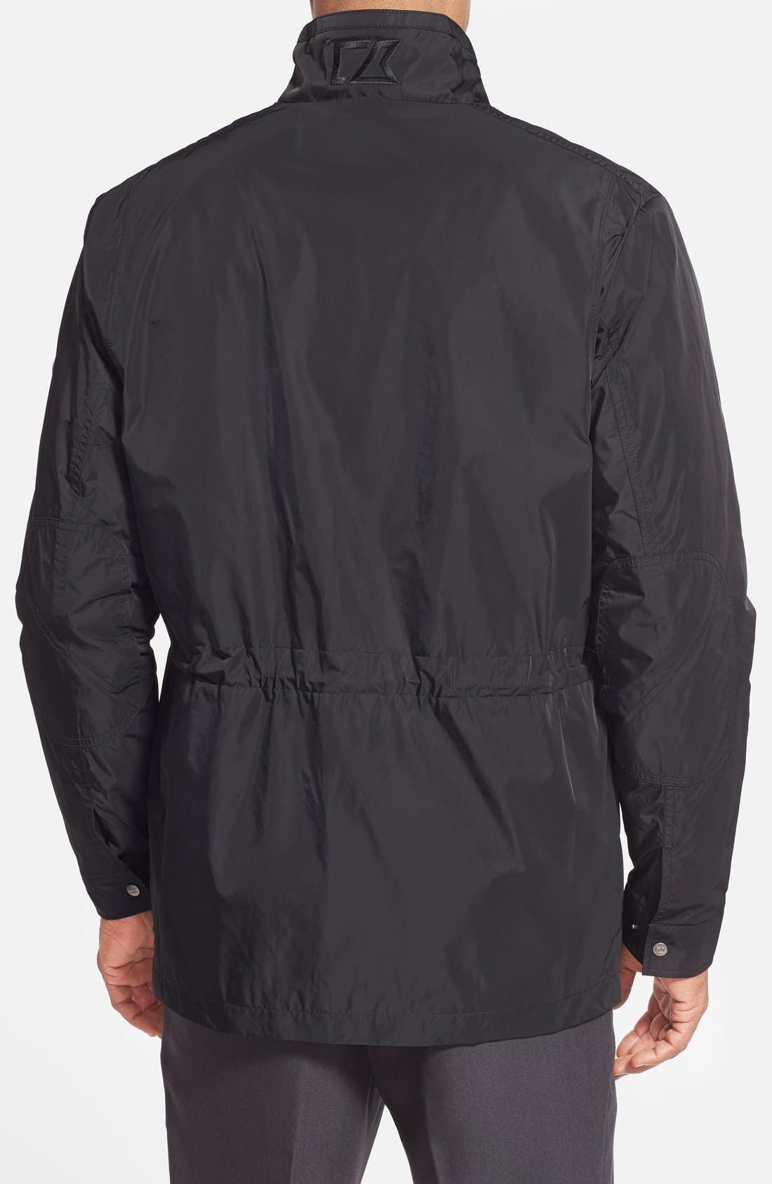 Birch Bay Water Resistant Jacket,                             Alternate thumbnail 2, color,                             Black