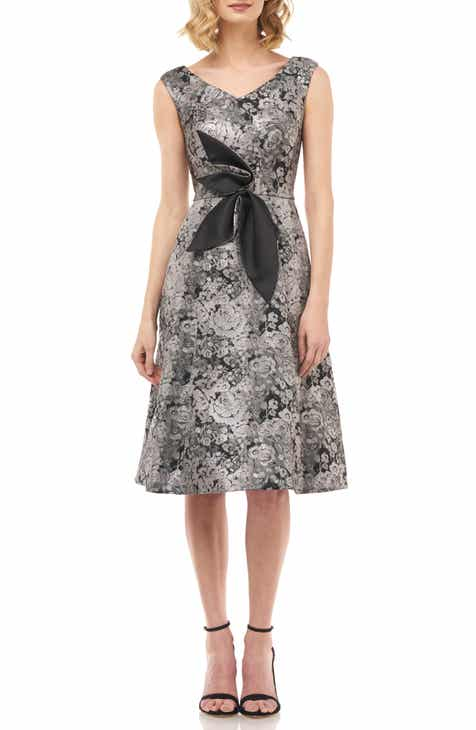 Kay Unger Chloé Fit & Flare Dress