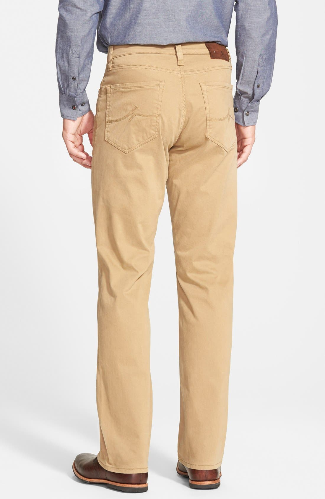 'Charisma' Classic Relaxed Fit Pants,                             Alternate thumbnail 2, color,                             Beige/ Khaki