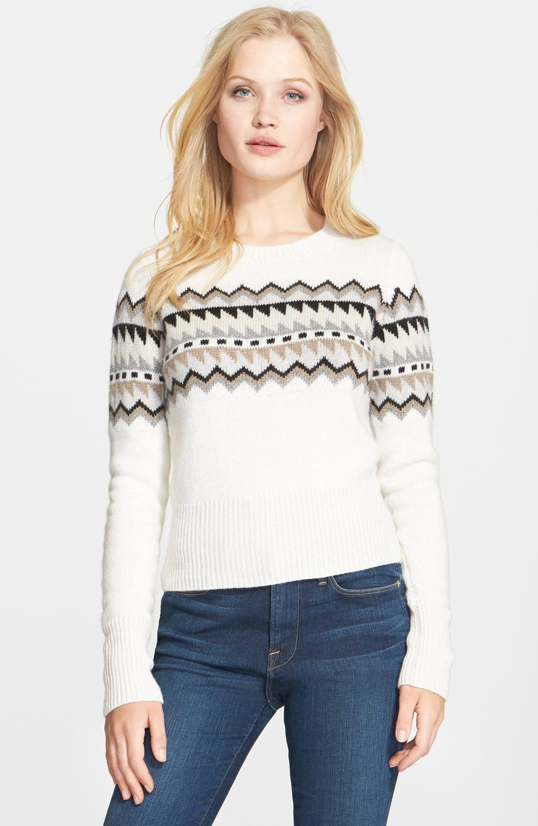 autumn cashmere Fair Isle Sweater | Nordstrom