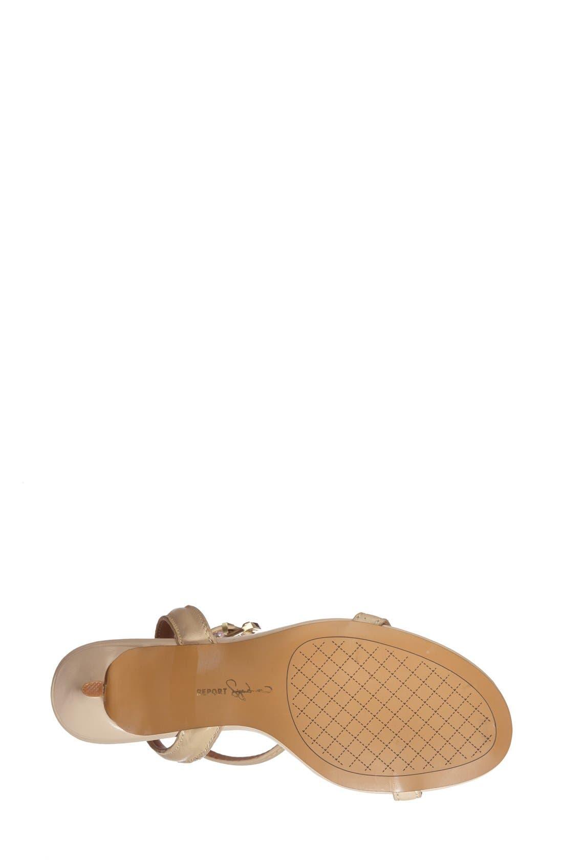 Alternate Image 4  - REPORT 'Signature Neely' Ankle Strap Sandal (Women)