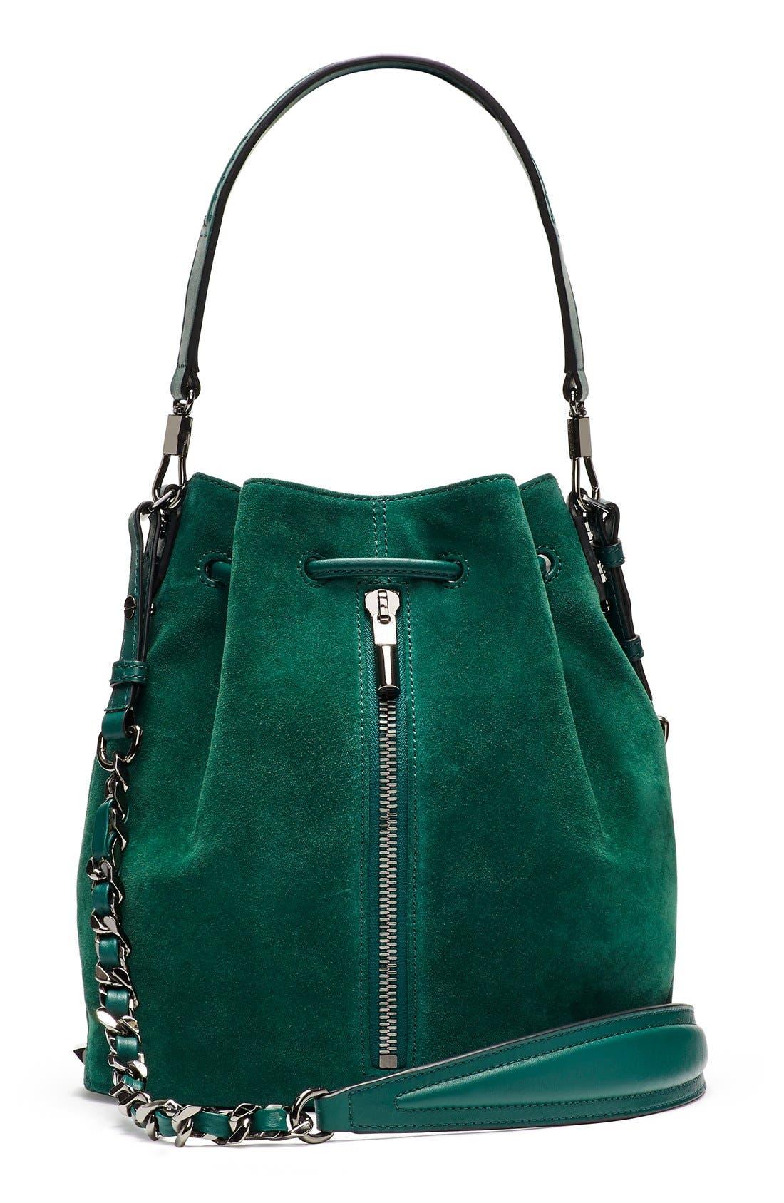Alternate Image 1 Selected - Elizabeth and James 'Cynnie' Suede Bucket Bag