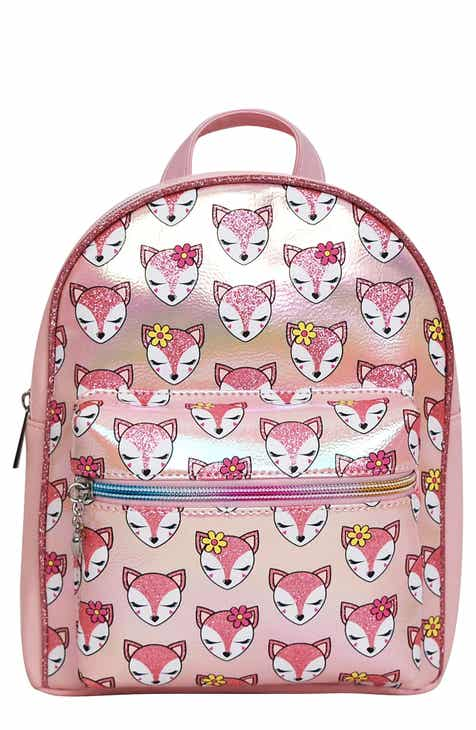 OMG Fox Print Mini Backpack (Kid)