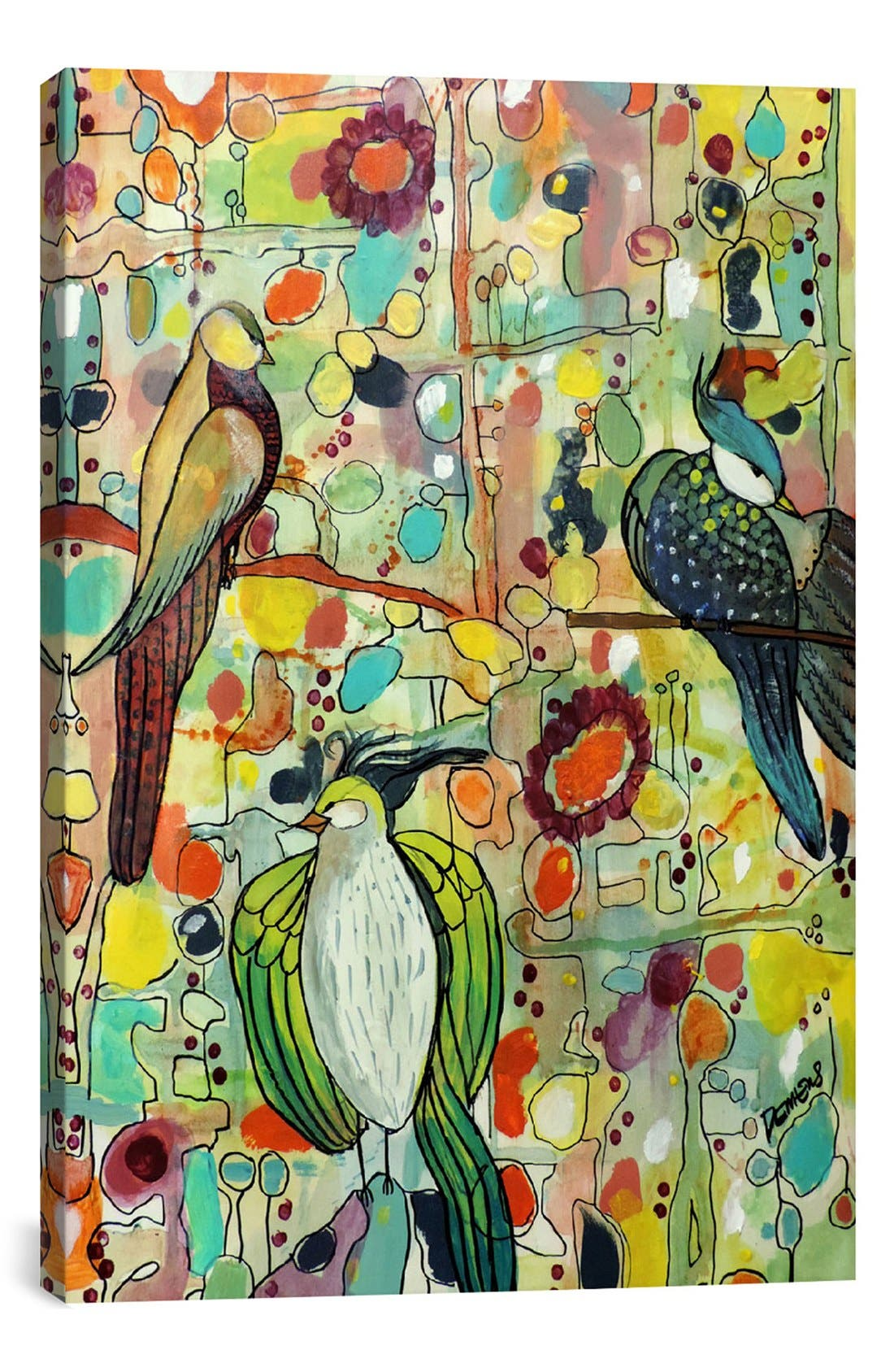 Main Image - iCanvas 'Assemblée - Sylvie Demers' Giclée Print Canvas Art